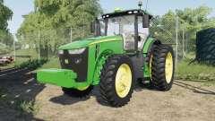John Deere 8245Ɍ-8400R for Farming Simulator 2017
