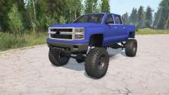 Chevrolet Silverado HD Crew Cab 2012 for MudRunner
