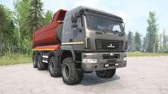 MAZ-6516В9 gray color for MudRunner