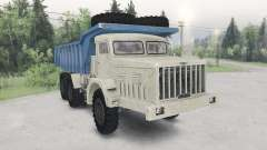 The MAZ-530-beige-blue color for Spin Tires