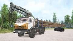 KamAZ-4410 for MudRunner