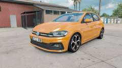 Volkswagen Polo R-Line (Typ AW) 2017 for American Truck Simulator