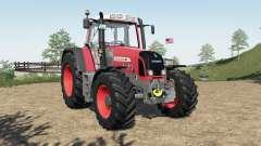 Fendt 800 Vario TMS added FL mounting frame for Farming Simulator 2017