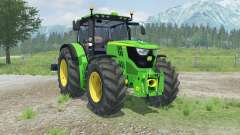 John Deere 6170R with weights for Farming Simulator 2013