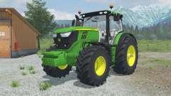 John Deere 6170R&6210R MoreRealistic for Farming Simulator 2013