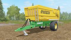 Joskin Tᵲans-Cap 5000-14 for Farming Simulator 2017