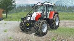 Steyr 6195 CVT Forest Edition for Farming Simulator 2013