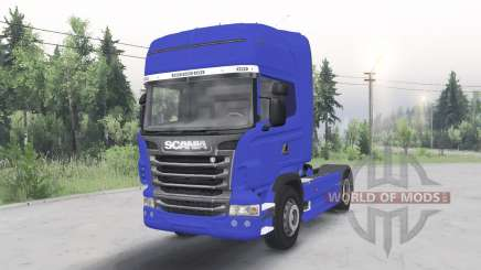 Scania R730 4x4 Topline cab 2009 for Spin Tires