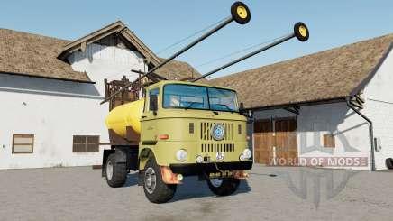 IFA W50 Sprayer mirrors reflect for Farming Simulator 2017