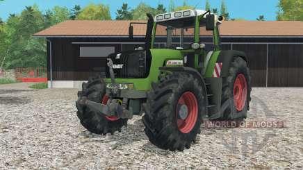 Fendt 930 Vario TMS animated control for Farming Simulator 2015