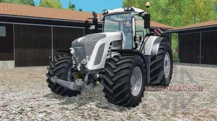 Fendt 9ろ3 Vario white edition for Farming Simulator 2015