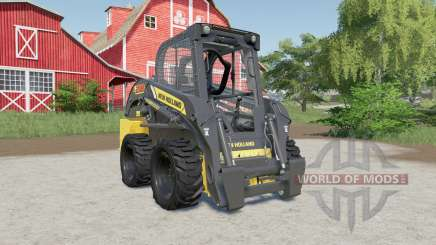 New Holland L218 smoothed out steering for Farming Simulator 2017