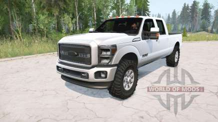 Ford F-350 Supꬴr Duty Crew Cab 2016 for MudRunner