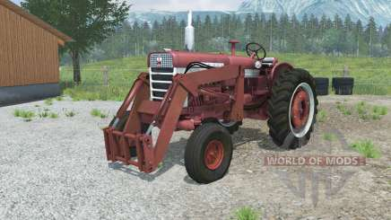Farmall 560 with front loader for Farming Simulator 2013