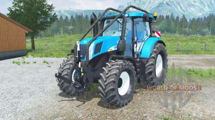 New Holland T7050 Foreꜱt for Farming Simulator 2013