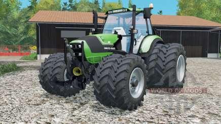 Deutz-Fahr 6190 TTV Agrotroᵰ for Farming Simulator 2015