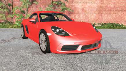 Porsche 718 Cayman (982C) 2016 for BeamNG Drive