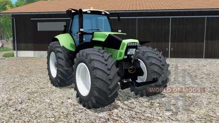 Deutz-Fahr Agrotron X 720 neue reifen verbaut for Farming Simulator 2015