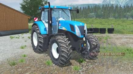 New Hollᶏnd T7050 for Farming Simulator 2013