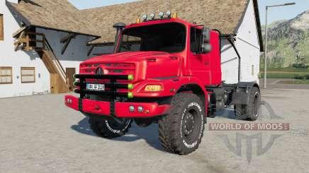 Mercedes-Benz Zetros AS 4x4 for Farming Simulator 2017