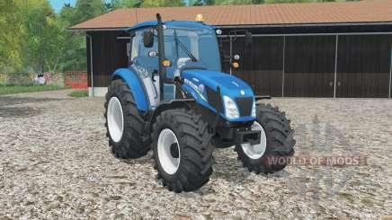 New Hꝍlland T4.115 for Farming Simulator 2015