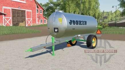 Joskin AquaTrans 7300 S transport of liquids for Farming Simulator 2017
