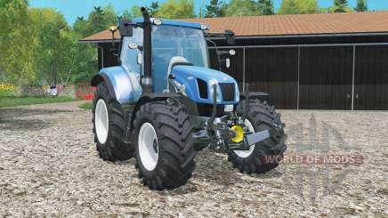 New Hollaɳd T6.160 for Farming Simulator 2015