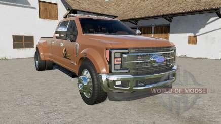 Ford F-450 Super Duty Platinum Crew Cab Ձ017 for Farming Simulator 2017