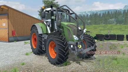 Fendt 828 Vario Forest Edition for Farming Simulator 2013