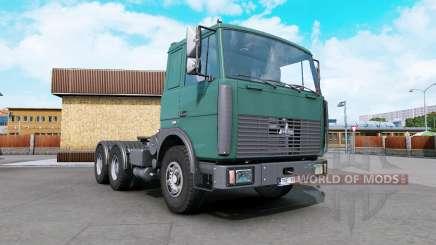 MAZ-6422 dark cyan for Euro Truck Simulator 2
