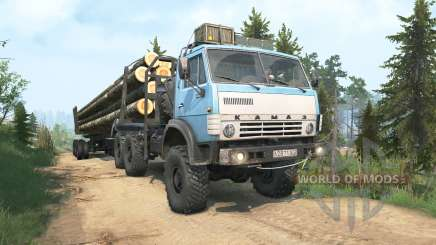 KamAZ-4310 blue color for MudRunner