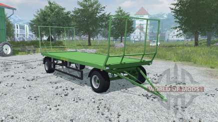 Pronar T022 folding front and rear wall for Farming Simulator 2013