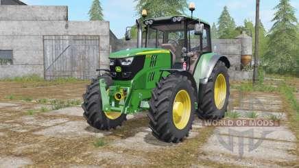 John Deere 6115M-6155M for Farming Simulator 2017
