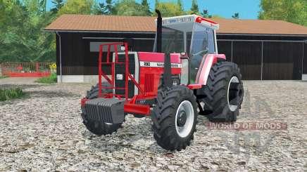 Massey Fergusoᶇ 290 for Farming Simulator 2015