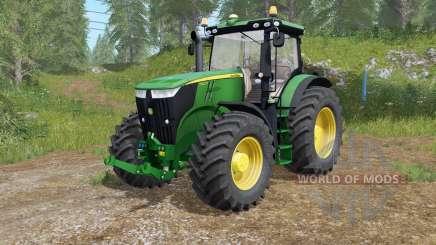John Deere 7280R-7310R selecting modification for Farming Simulator 2017