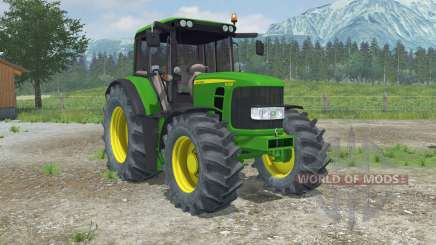 John Deere 6330 Premium front loader for Farming Simulator 2013