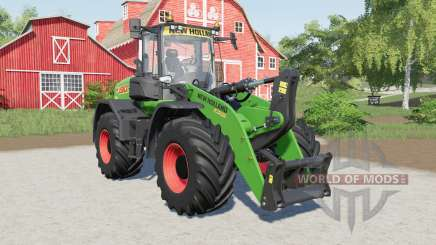New Holland W190D added several tires for Farming Simulator 2017