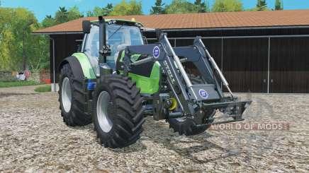 Deutz-Fahr 7250 TTV Agrotron frontlader for Farming Simulator 2015