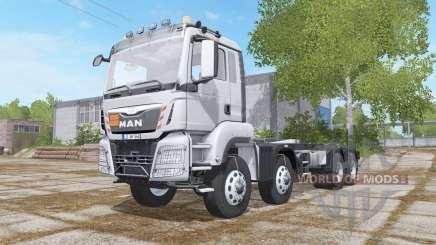 MAN TGS 4-axis Multilift for Farming Simulator 2017