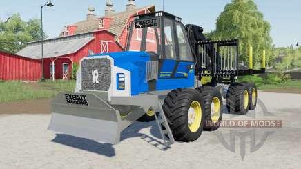 Rottne F20ᴰ for Farming Simulator 2017
