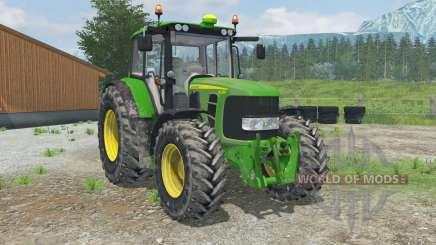 John Deere 6430 soiled for Farming Simulator 2013