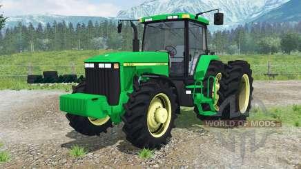 John Deere 8400 RowCrow for Farming Simulator 2013