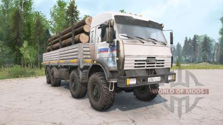 KamAZ-6350 gray color for MudRunner