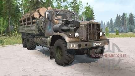 KrAZ-255B aged for MudRunner