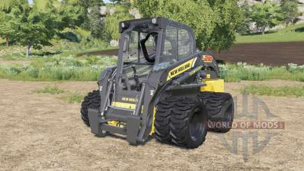 New Holland L218 double wheels for Farming Simulator 2017