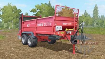 SIP Oᵲion 120 TH for Farming Simulator 2017