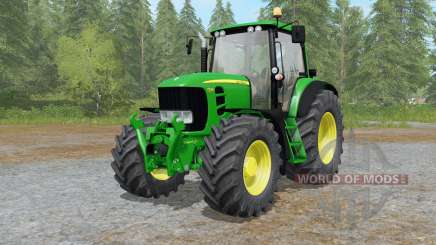 John Deere 7430&7530 Premium improved spec for Farming Simulator 2017