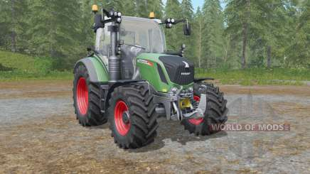 Fendt 500 Vario with all-round lights for Farming Simulator 2017