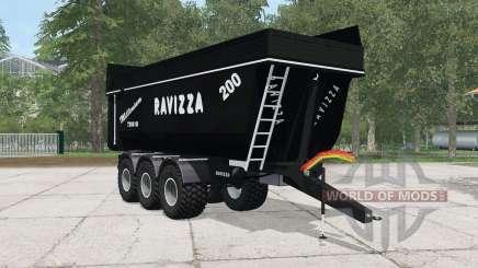 Ravizza Millenium 7200 SI black for Farming Simulator 2015