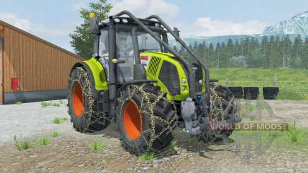 Claas Axion 850 Forest Edition for Farming Simulator 2013